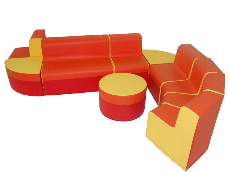 детский мягкий модуль диван ликвидирует неприятный